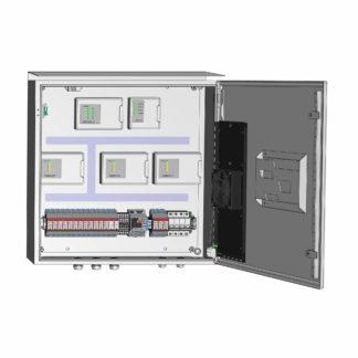 Термошкаф ТША120-ОПС-60.60.21-120-У1-ШБСП с оборудованием системы «Болид»