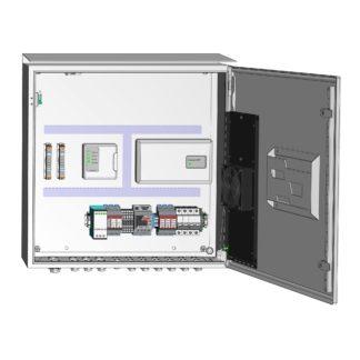 Термошкаф ТША120-ОПС-60.60.21-120-У1-ШОС с оборудованием системы «Болид»