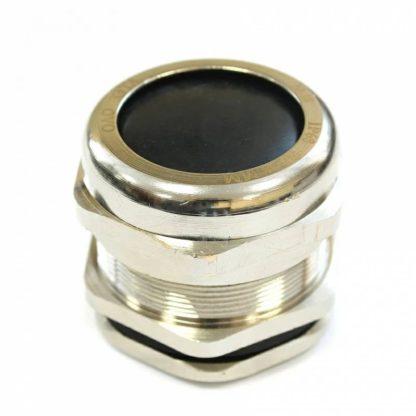 PG19 — Кабельный ввод  латунный ЗЭТАРУС PG19, диаметр кабеля 10-14 мм