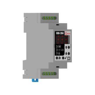 УКМ-2М4 — Устройство контроля микроклимата, 12-36В DC, 2 канала, встроенный датчик, аварийный термостат
