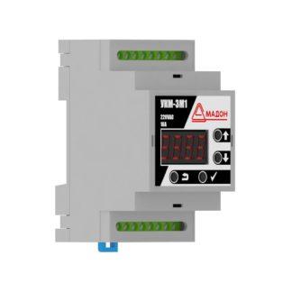 УКМ-3М1 — Устройство контроля микроклимата, 3 канала, выносной датчик, аварийный термостат