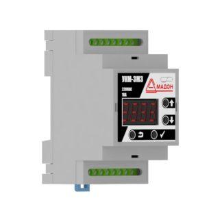 УКМ-3М3 — Устройство контроля микроклимата, 3 канала, встроенный датчик, аварийный термостат