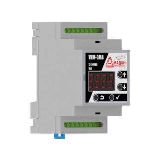 УКМ-3М4 — Устройство контроля микроклимата, 12-36В DC, 3 канала, встроенный датчик, аварийный термостат