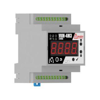 УКМ-4М3 — Устройство контроля микроклимата, 4 канала со свободными контактами, встроенный датчик, аварийный термостат