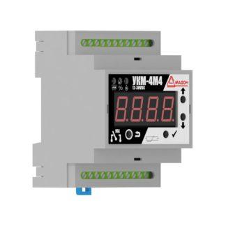 УКМ-4М4 — Устройство контроля микроклимата, 12-36В DC, 4 канала со свободными контактами, выносной датчик, аварийный термостат