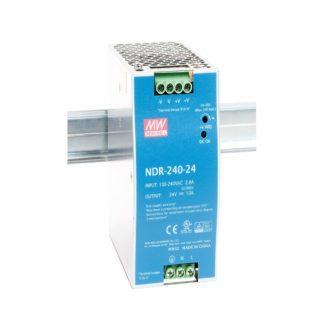 NDR-240-24  — Блок питания Mean Well, 240 Вт, 24 В