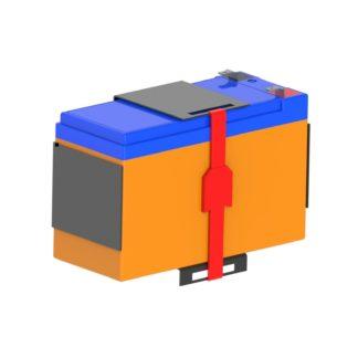 Полка для аккумуляторных батарей КАБ-1207-9-1