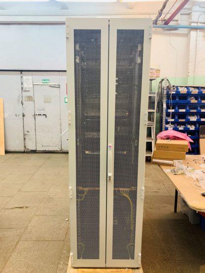 Шкаф ШПУ302-60.200-42U.80 c системой видеонаблюдения и бесперебойного питания