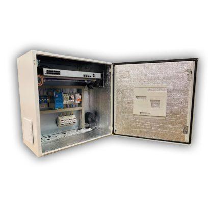 Термошкаф «Амадон» ТША112-60.60.35-300-УХЛ1-3129 для видеонаблюдения, с ИБП