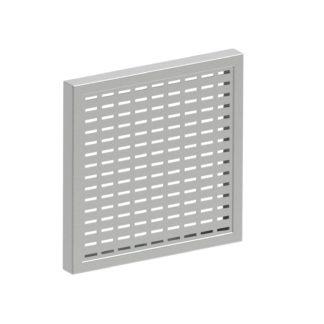 ЗКР-176 — Защитная решетка вентиляции, монтажный вырез 176х176