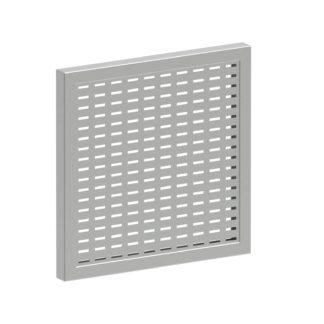 ЗКР-224 — Защитная решетка вентиляции, монтажный вырез 224х224