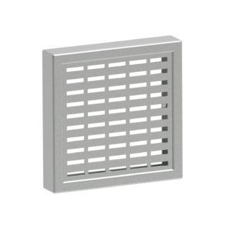 ЗКР-92 — Защитная решетка вентиляции, монтажный вырез 92х92