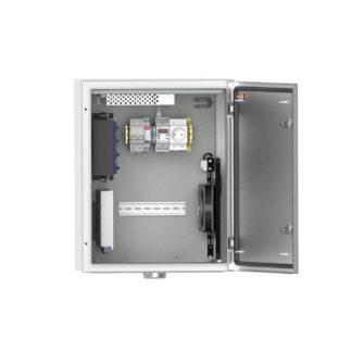 Термошкаф «Амадон» ТША120-40.50.25-У1-121120 для видеонаблюдения, с АКБ