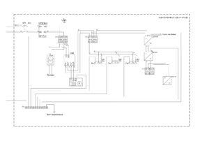"""Термошкаф для видеонаблюдения с ИБП """"Амадон"""" ТША120-60.60.21-У1-511120 - схема"""