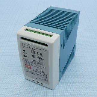 DRC-100B  — Блок питания Mean Well, 100 Вт, 24 В, с функцией UPS (ИБП)