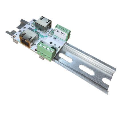 ЗЛС-1ЕП-24 — Устройство защиты линий ( 1 линия Ethernet + 1 линия питания 24 В )