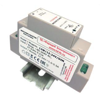 12W/12-24V/DIN - Блок питания Faraday Electronics, 12 Вт, 12-24В, DIN