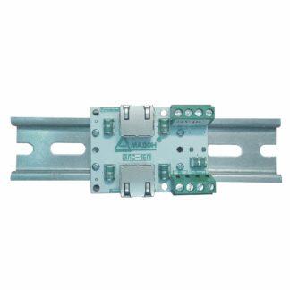 ЗЛС-1ЕП-48 — Устройство защиты линий ( 1 линия Ethernet + 1 линия питания 48 В )