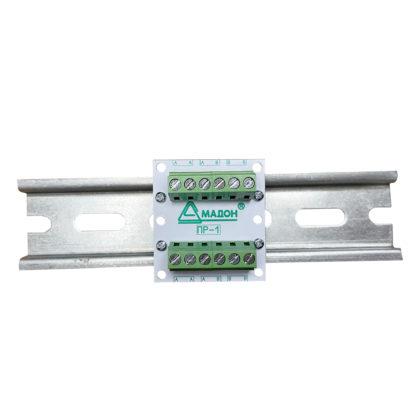 ПР-1 — Плата распределения сигнальных/силовых цепей, 2 канала