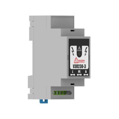 УЗП230-3 — Устройство защиты линии питания напряжением 230В переменного тока, II+III класса
