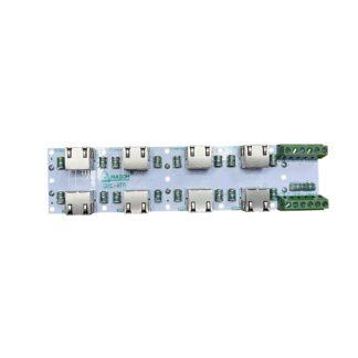 ЗЛС-4ЕП-48 — Устройство защиты линий ( 4 линии Ethernet + 2 линии питания 48 В )