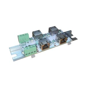 ЗЛС-2ЕП — Устройство защиты линий ( 2 линии Ethernet + 1 линия питания )