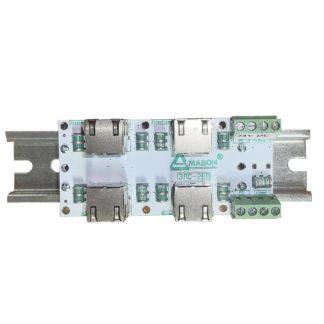 ЗЛС-2ЕП-12 — Устройство защиты линий ( 2 линии Ethernet + 1 линия питания 12 В )
