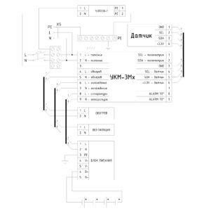 ТША112-ИБП.ВЦ-60.60.21 - схема электрическая