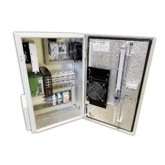 Термошкаф «Амадон» ТША622-ВЦ-5.2.3-NS5 для видеонаблюдения, антивандальный, с коммутатором