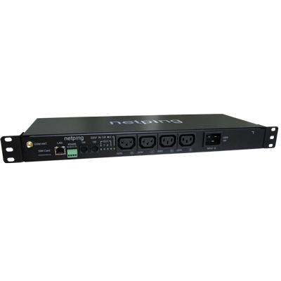 Устройство NetPing 8/PWR-220 v4/SMS — устройство удаленного управления розетками