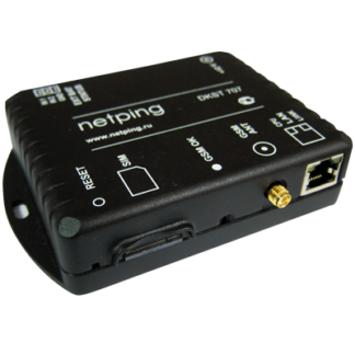 NetPing SMS — шлюз для отправки и приема SMS команд
