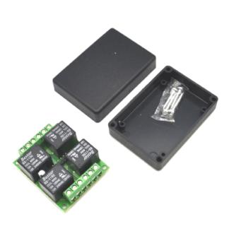 MP701 — Силовой модуль коммутации NetPing, 4 независимых канала по 2 кВт 10А