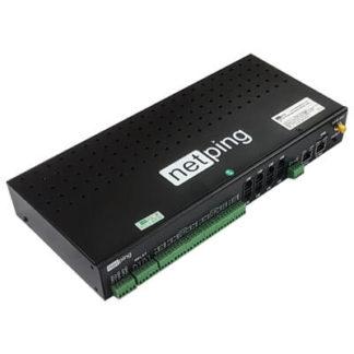 Устройство NetPing server solution v5/GSM3G — устройство удаленного мониторинга датчиков, sms уведомление