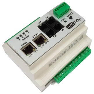 NetPing v4 — устройство удаленного мониторинга датчиков