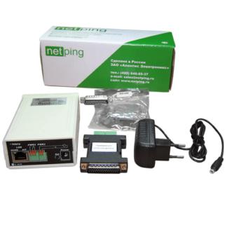 UniPing v3 — устройство удаленного мониторинга датчиков