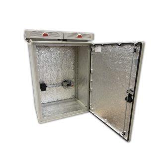 Термошкаф «Амадон» пластиковый, с обогревом и вентиляцией ТША516-69.41.96-400-У1