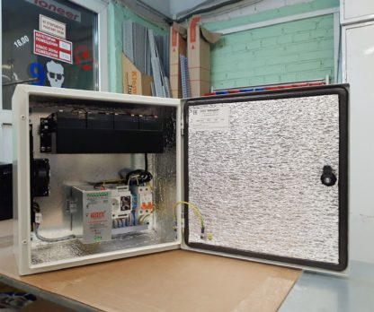 Термошкаф «Амадон» ТША120-40.40.20-ST-ИБП, с ИБП